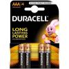 DURACELL Basic Duracell AAA 4 db