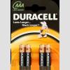 DURACELL BSC 4 db AAA elem