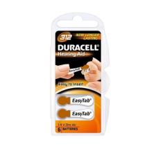DURACELL Elem hallókészülékhez DURACELL Easytab DA312 világítás