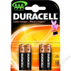 DURACELL ELEM MICRO (AAA, LR03) BASIC 4/BL DURACELL