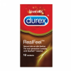 Durex óvszer 12 db real feel