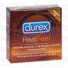 Durex Real Feel 3 db latex mentes óvszer