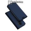 DUX DUCIS slim design notesz / mappa tok - SÖTÉTKÉK - oldalra nyíló flip cover, asztali tartó funkció, szilikon belső - SAMSUNG SM-J400F Galaxy J4 (2018) - GYÁRI