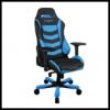 DXRacer OH/IS166/NB IRON Gaming Chair - fekete / kék