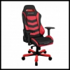 DXRacer OH/IS166/NR IRON Gaming Chair - fekete / piros