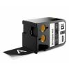 Dymo 1868799, 41mm x 7m, fehér nyomtatás / fekete alapon, eredeti szalag