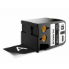 Dymo 1868800, 54mm x 7m, fehér nyomtatás / fekete alapon, eredeti szalag