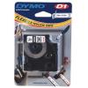 Dymo D1 16958, S0718050, 19mm x 3.5m, fekete nyomtatás / fehér alapon, eredeti szalag