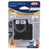Dymo D1 16960, S0718060, 19mm x 5,5m fekete nyomtatás / fehér alapon, eredeti szalag