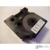 DYMO D1 53710 24mm * 7m átlátszó alapon fekete utángyártott feliratozószalag kazetta