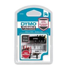 DYMO Feliratozógép szalag, 12 mm x 3 m, tartós, DYMO  D1 , fekete-fehér fénymásolópapír