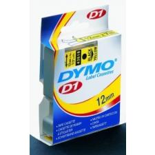 """DYMO Feliratozógép szalag, 12 mm x 7 m, DYMO """"D1"""", fehér-piros nyomtató kellék"""