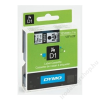 DYMO Feliratozógép szalag, 12 mm x 7 m, DYMO D1, piros-fekete (GD45017)
