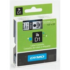 """DYMO Feliratozógép szalag, 12 mm x 7 m, DYMO """"D1"""", víztiszta-kék nyomtató kellék"""