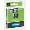 """DYMO Feliratozógép szalag, 9 mm x 7 m, DYMO """"D1"""", fehér-kék"""