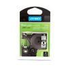 """DYMO Feliratozógép szalag, állandó poliészter 19 mm x 5,5 m, DYMO """"D1"""", víztiszta-fekete"""