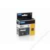 DYMO Feliratozógép szalag, poliészter, 9 mm x 5,5 m, DYMO ID1, fehér-fekete (GDR718210)