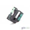 DYMO ID1 18441 12mm * 5.5m fekete-zöld vinyl címke szalag