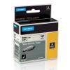Dymo Rhino 18053, S0718280, 9mm x 1,5m fekete nyomtatás / fehér alapon, eredeti szalag