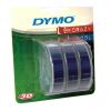 Dymo S0847740, 9mm x 3m fekete nyomtatás / átlátszó alapon, eredeti szalag