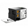 Dymo XTL1868703, 51mm x 76mm, 100db, fekete nyomtatás / fehér alapon, eredeti szalag