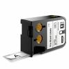 Dymo XTL 1868702, 25mm x 51mm, 100db, fekete nyomtatás / fehér alapon, eredeti szalag
