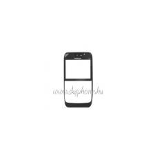 E63 előlap fekete (swap) mobiltelefon előlap