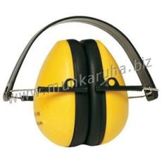 Earline® MAX 600 sárga fültok, összecsukható, állítható fémpánttal (SNR 26dB)