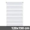 Easy fix doppel roló, fehér, ablakra: 120x150 cm