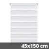 Easy fix doppel roló, fehér, ablakra: 45x150 cm
