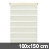 Easy fix doppel roló, krém, ablakra: 100x150 cm