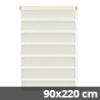 Easy fix doppel roló, krém, ajtóra: 90x220 cm