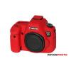 EasyCover szilikon védőtok Canon EOS 6D piros