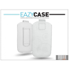 Eazy Case DECO SLIM univerzális bőrtok - Samsung S6500 Galaxy Mini 2/HTC Desire 200 - fehér - 13. méret