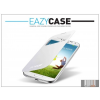 Eazy Case Samsung i9500 Galaxy S4 S View Cover flipes hátlap on/off funkcióval - EF-CI950BWEGWW utángyártott - white