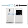 Eazy Case Samsung SM-G900 Galaxy S5 S View Cover flipes hátlap - EF-CG900B utángyártott - fehér