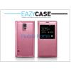 Eazy Case Samsung SM-G900 Galaxy S5 S View Cover flipes hátlap - EF-CG900B utángyártott - pink