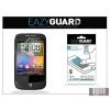 Eazyguard HTC Wildfire képernyővédő fólia - 2 db/csomag (Crystal/Antireflex)