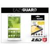 Eazyguard Huawei P10 gyémántüveg képernyővédő fólia - Diamond Glass 2.5D Fullcover - fehér