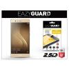 Eazyguard Huawei P9 gyémántüveg képernyővédő fólia - Diamond Glass 2.5D Fullcover - gold