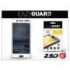 Eazyguard Nokia 6 gyémántüveg képernyővédő fólia - Diamond Glass 2.5D Fullcover - fehér