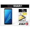 Eazyguard Samsung A530F Galaxy A8 (2018) gyémántüveg képernyővédő fólia - Diamond Glass 2.5D Fullcover - fekete