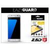 Eazyguard Samsung G930F Galaxy S7 gyémántüveg képernyővédő fólia - Diamond Glass 2.5D Fullcover - ezüst