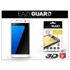 Eazyguard Samsung G935F Galaxy S7 Edge gyémántüveg képernyővédő fólia - Diamond Glass 3D Fullcover - fehér