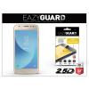 Eazyguard Samsung J330F Galaxy J3 (2017) gyémántüveg képernyővédő fólia - Diamond Glass 2.5D Fullcover - gold