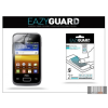 Eazyguard Samsung S6102 Galaxy Y Duos képernyővédő fólia - 2 db/csomag (Crystal/Antireflex)