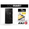 Eazyguard Sony Xperia XZ1 (G8341) gyémántüveg képernyővédő fólia - Diamond Glass 2.5D Fullcover - fekete