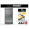 Eazyguard Sony Xperia XZ Premium (G8141) gyémántüveg képernyővédő fólia - Diamond Glass 2.5D Fullcover - szürke
