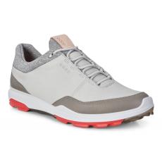 Ecco Golf Biom Hybrid 3 Concrete/Scarlet 42