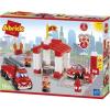 Ecoiffier Abrick: Tűzoltóállomásépítőjáték